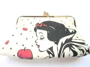Tokyo Disney Resort Limited Snow White Poison Apple Purses Wallet NEW Japan FS