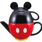 NEW Disney Store Japan Christmas Mickey Mouse teapot set (pot and mug) SAN217 FS