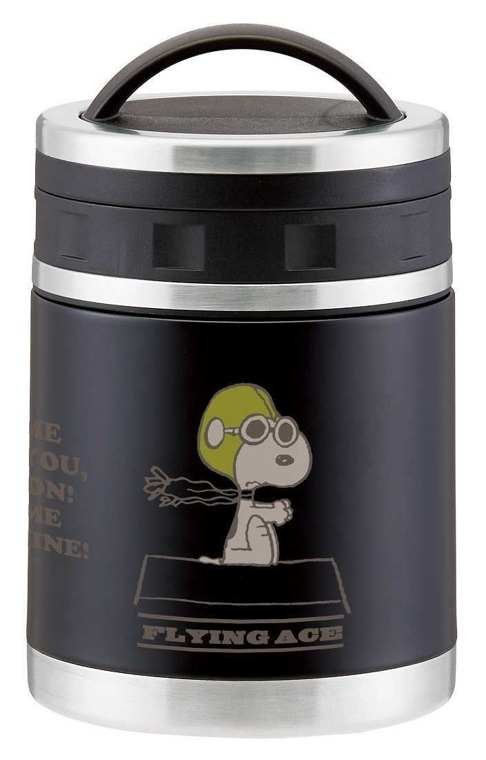 SNOOPY PEANUTS Thermal soup lunch jar warm & cool 520 ml bento pot Flying Ace FS