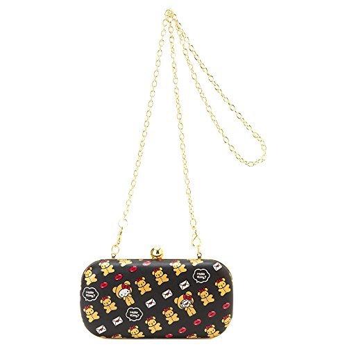 Hello Kitty SANRIO JAPAN Clutch bag Lip & Bear Cain tot purse wallet NEW FS