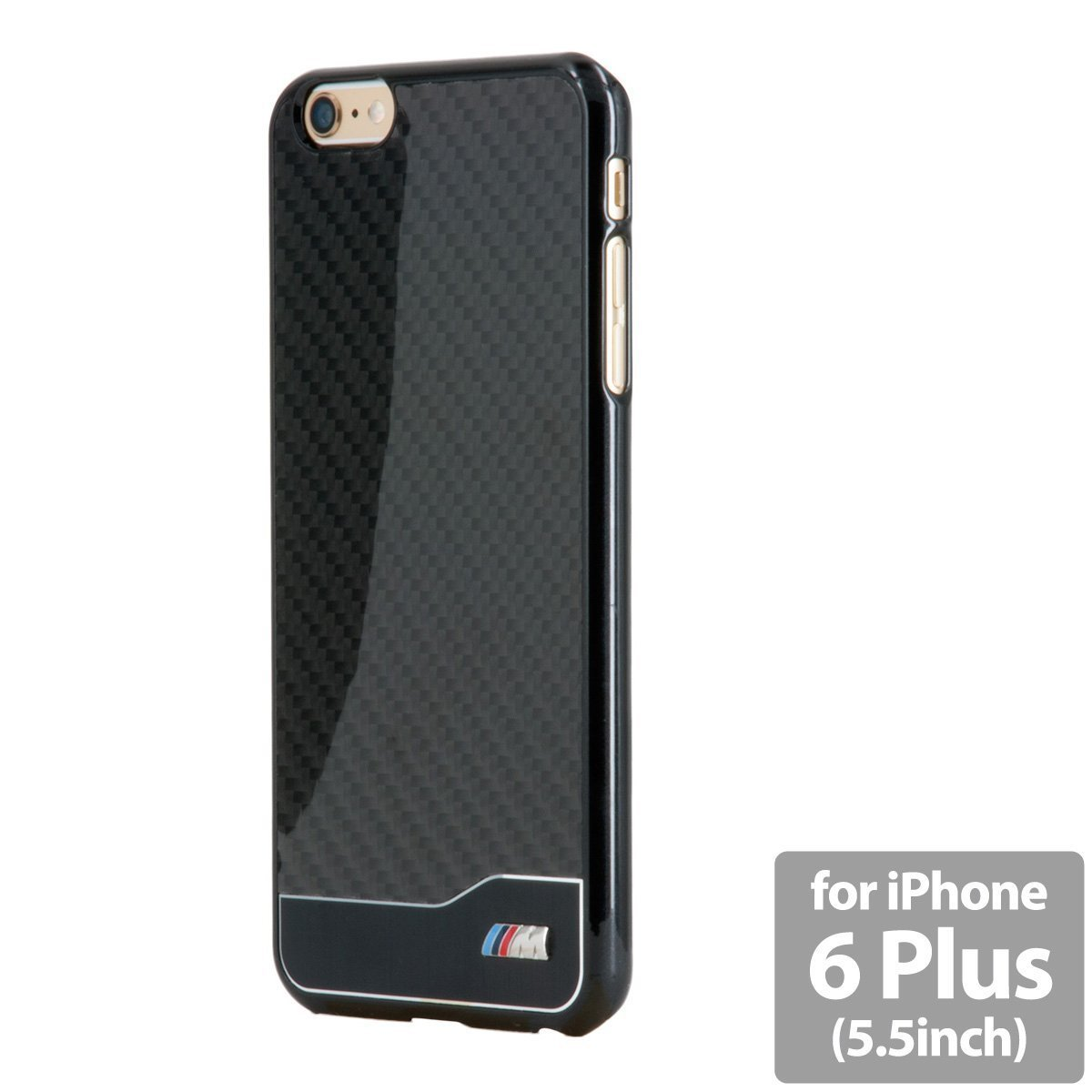 AIR-J BMHCP6LMDCB BMW Real Carbon Hard Case Cover Black for iPhone 6 Plus FSNEW