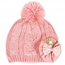 Sanrio Japan My Melody Pink Warm Knit Hat Cap for Children Free size NEW