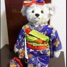 Gift 2002 Steiff Chiyohime Japan limited Kimono teddy bear 1500 body only NEWFS
