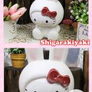 Shigaraki Hello Kitty Rabbit porcelain Pottery Figurines Plush doll Japan NEW