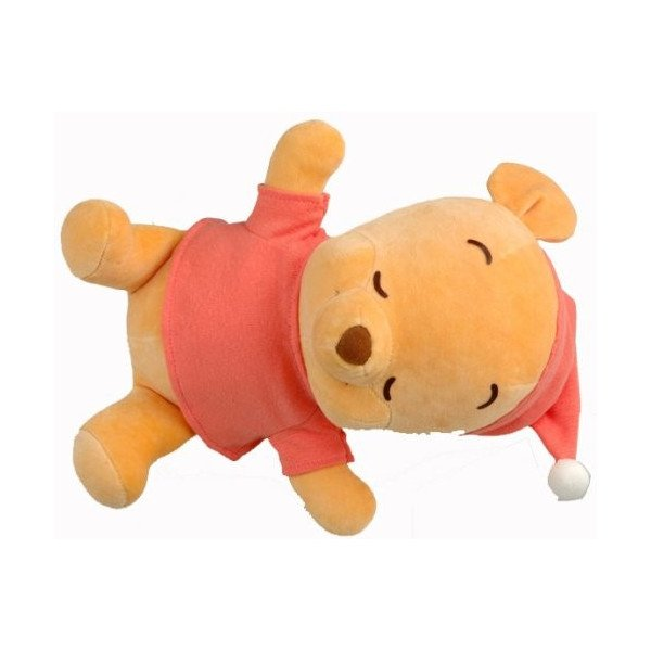 Issho ni Nenne Disney Baby Winnie the Pooh Womb Doll - Takara Tomy sleeping doll