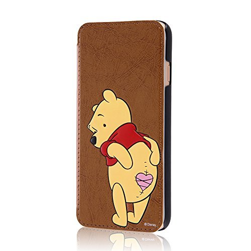 Disney Winnie the Pooh iPhone6 4.7 inch Leather Case RAY-OUT RT-DP7J/PO F/S
