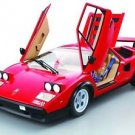 Lamborghini Countach LP 500S 1/8 Vol.1-80 complete SET+ Display Case Miniature