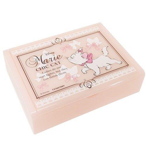 �Kawaii Disney Cat Marie Jewelry Box Accessory Case pink NEW F/S�