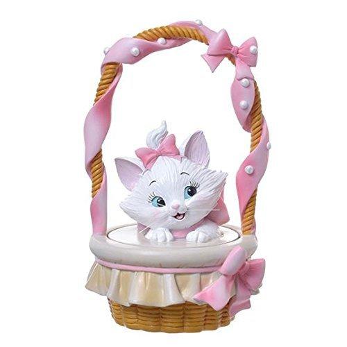 �Kawaii Disney Cat Marie Jewelry Box basket Accessory Case pink NEW F/S�