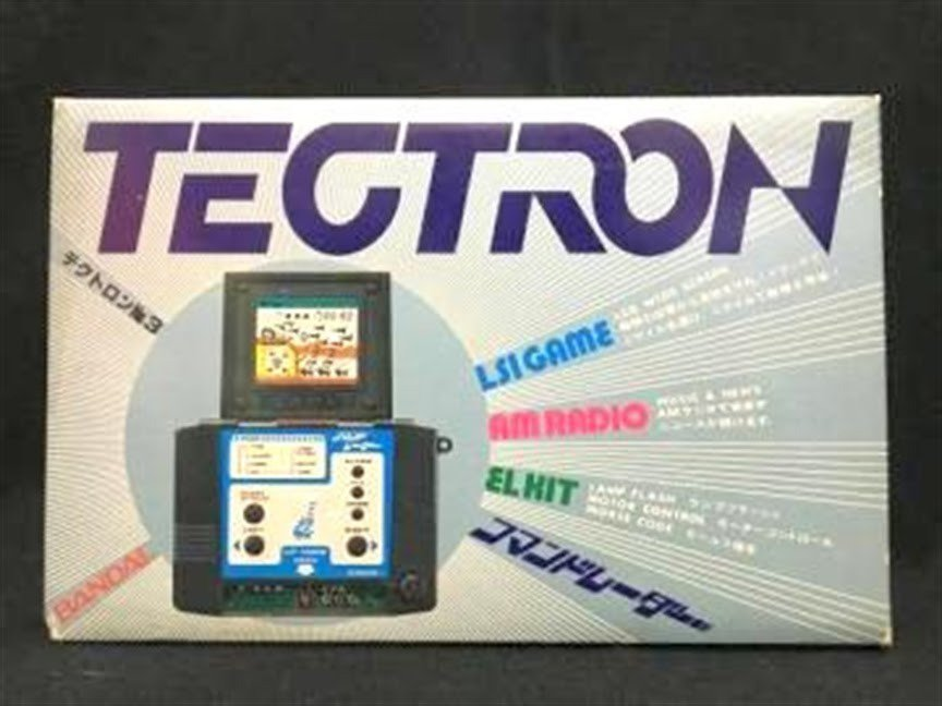 80's Bandai TECTRON Vintage Game No 3 Command Radar from JAPAN NEW