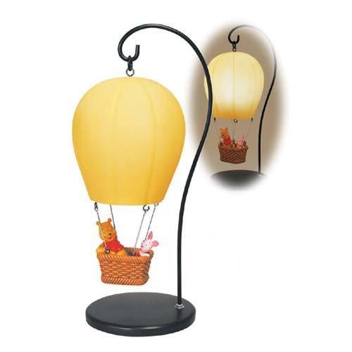 Very Rare! Diseny Winnie the Pooh Room lamp Balloon light Table Lamp from Japan