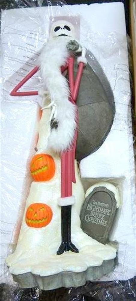 "Very Rare! Nightmare Before Christmas Santa Jack 70 cm 27"" Big Figure Halloween"