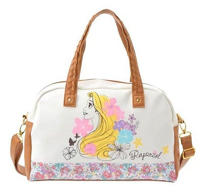 �HTF! Disney Store Rapunzel Boston bag Happily ever after Shoulder bag NEW �