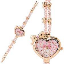 �SANRIO My Melody Bracelet Watch Ribbon Wrist watch pink NEW Free shipping�