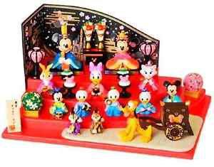 Disney Resort Limited Mickey & Friends Hina doll + Case Mary Goofy Figures JAPAN