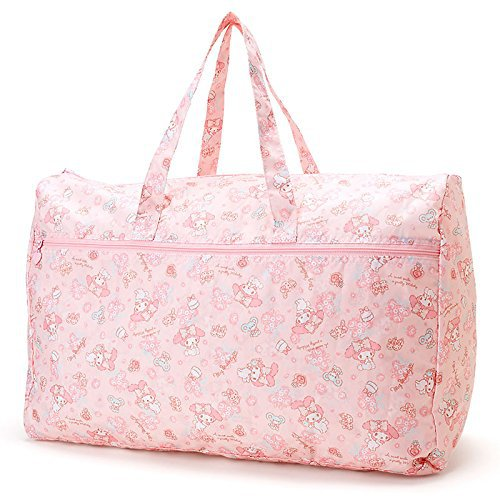 SANRIO My Melody folding Boston Bag L (lace) pink Kawaii SANRIO Japan F/S NEW