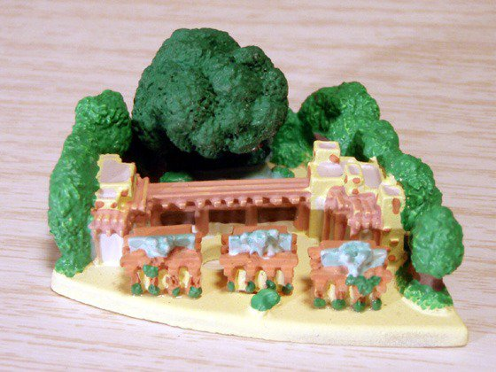 Disney Parade Animal Kingdom Entrance Florida Disneyland Diorama Miniature