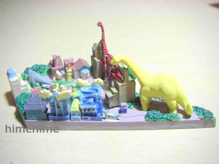 Disney Parade IUSA the kingdom of the dinosaurs Island Disneyland Miniature F/S