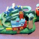 Disney Parade Goofy's Wise Acres Coaster Disneyland Diorama Figures Miniature FS