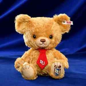 NEW! UniBEARsity x Steiff Disney Store JAPAN Mocha Plush toy doll FS