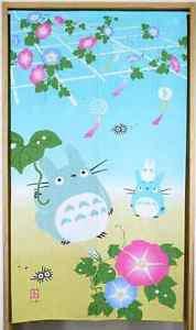 My Neighbor Totoro NOREN Doorway Summer light blue Polyester Partition CurtainFS