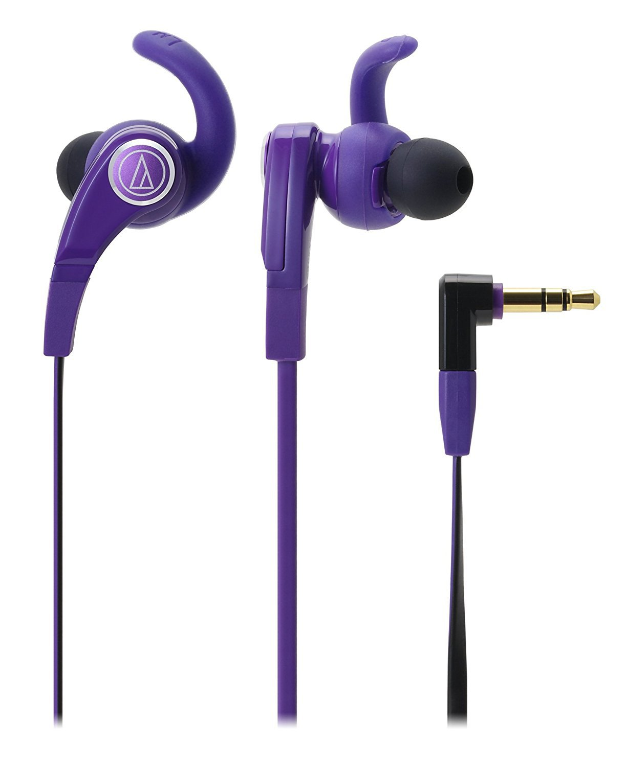 Audio Technica Canal Earphone SONIC FUEL ATH-CKX7 PL purple Japan NEW F/S