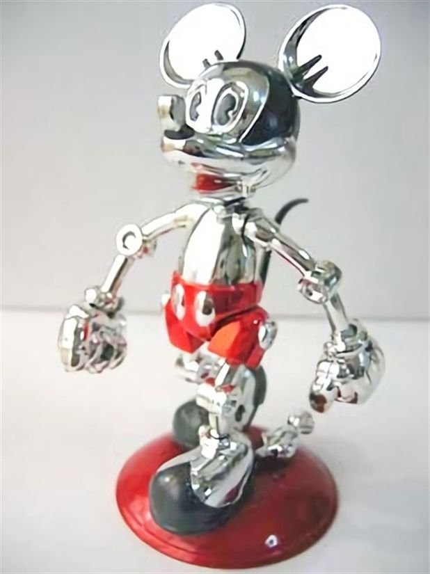 Rare Disney Future Mickey Color ver Hajime Sorayama Tomy Limited 1000Japan FSNEW