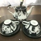 Disney Japan limited! Bambi Tea pot & Cup & Sugar pot & Milk pitcher set NEW F/S