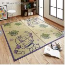 "Rush grass rug mat Toy Story Space Natural 70.8"" × 70.8"" square Japanese Carpet"