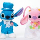 Disney Bridal Stitch & Angel M Wedding figures Pair doll set from JAPAN F/S NEW