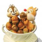 Japan limited! Disney Chip & Dale   Happiness Tea Party Tea Cup Figure ornament