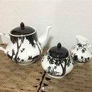 Disney Japan limited! Bambi Tea pot & cup set Dinnerware Saucer Free shippingNEW