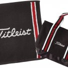 Titleist Japan Golf JAPAN Hand Towel & Tote Bag Set Gift Box Black AJGF43 F/SNEW