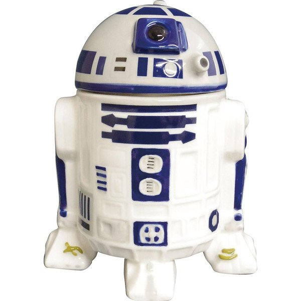 Disney Star Wars R2-D2 3D Mug Cup Cafe cup NEW F/S from JAPAN