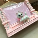 ❦Disney Marie Photo frame Figure Photo stand pink Seto Craft JAPAN limited! F/S❦