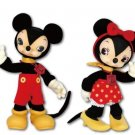 NEW Disney & Toys field Collection Mickey Mouse & Minnie Mouse Set Plush doll FS