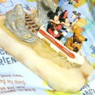Ron Li Disney store Matterhorn Bobsleds Mickey & Minnie Marble Ornament figure