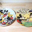 Mickey Mouse Franc franc Dessert plate Cake dish Saucer 2 SET Japan limited FS