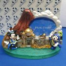 HTF TDS initial photo frame photo stand diorama figure Tokyo Disney Sea Ornament