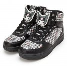 NEW KUROMI character clip high-cut Sneaker M size US 6 / EU 37 Shoes SANRIO