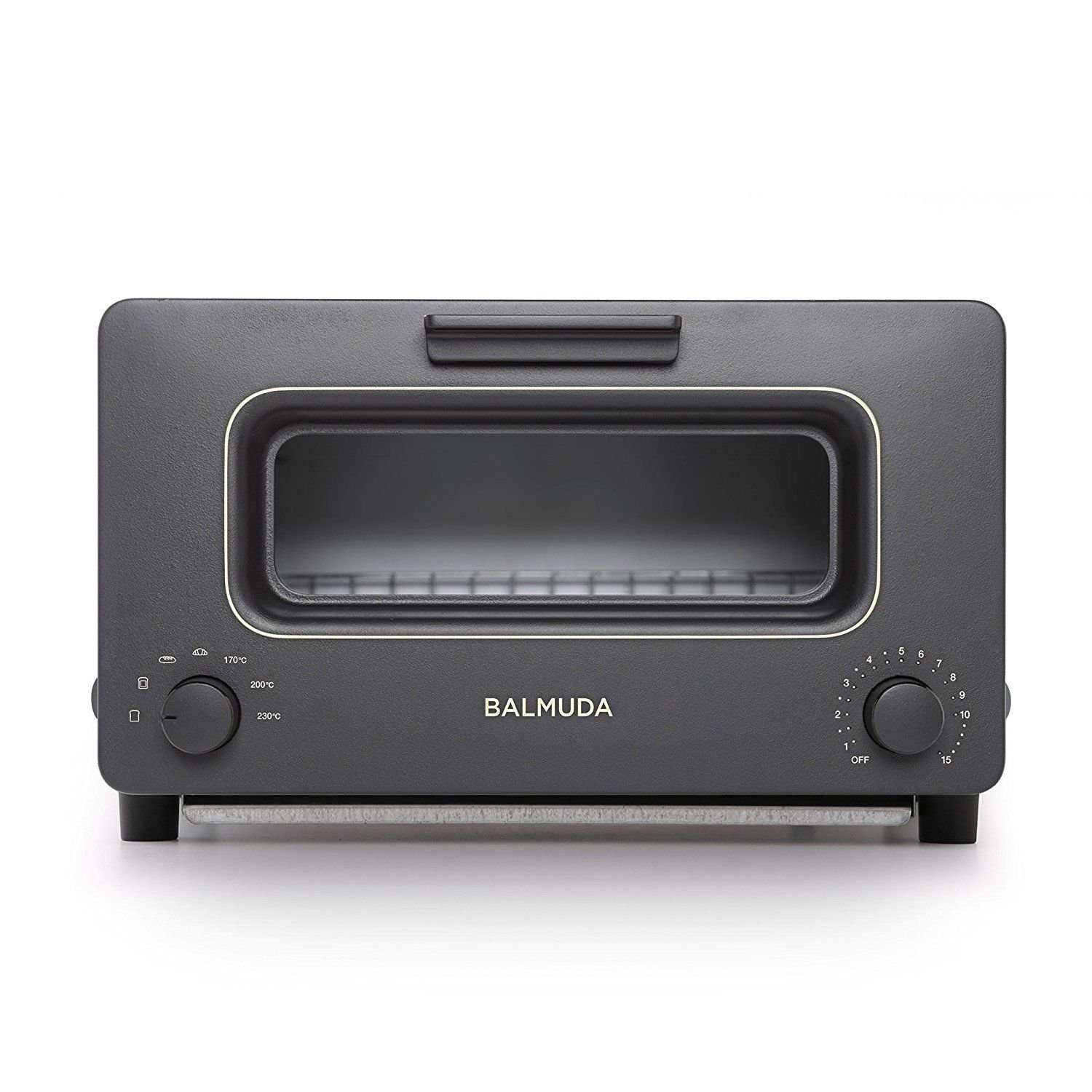 NEW BALMUDA The Steam oven toaster Black K01A-KG MIB F/S Worldwide Japan