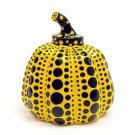 NEW Yayoi Kusama Sculpture Object Pumpkin Yellow NEW from Japan Gift !F/S