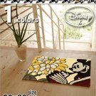 DISNEY Mickey Mini Room Entrance Door Mat Rug Carpet Made in Japan 50 x 80 F/S