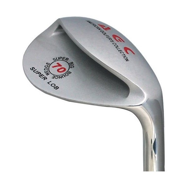 LEZAX AGC big bounce wedge 70 degrees steel shaft plated finish New F/S Japan