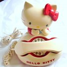 Rare!!1980s.Vintage Hello Kitty Dial Telephone RED Japan limited Collector FSHTF