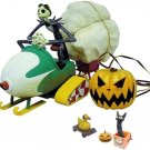 90' Rare Nightmare Before Christmas10th Remote Control Jack Snowmobile VehiclNEW