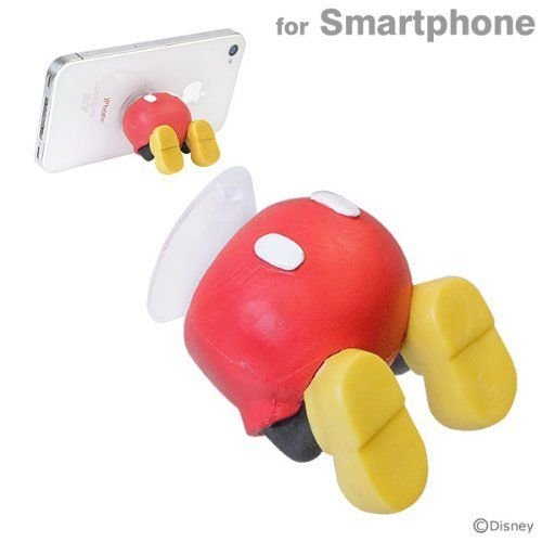 Disney Mickey mouse Smartphone stand Buttocks Sucker Hip Mobile holder JAPAN
