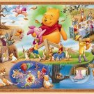 Jigsaw puzzle the world's smallest Winnie the Pooh and the large storm 1000 F/S