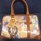 Disney store Boston bag Classics Vintage All Star 2WAY Brown Pinocchio Alice