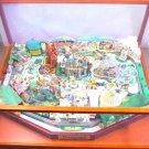 My Disneyland Diorama kit + Display case SET US Miniature Mickey figure StateNEW